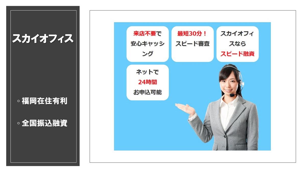 福岡にある消費者金融スカイオフィス